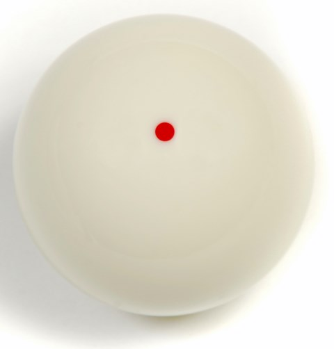 Red Dot Pool Cue Ball
